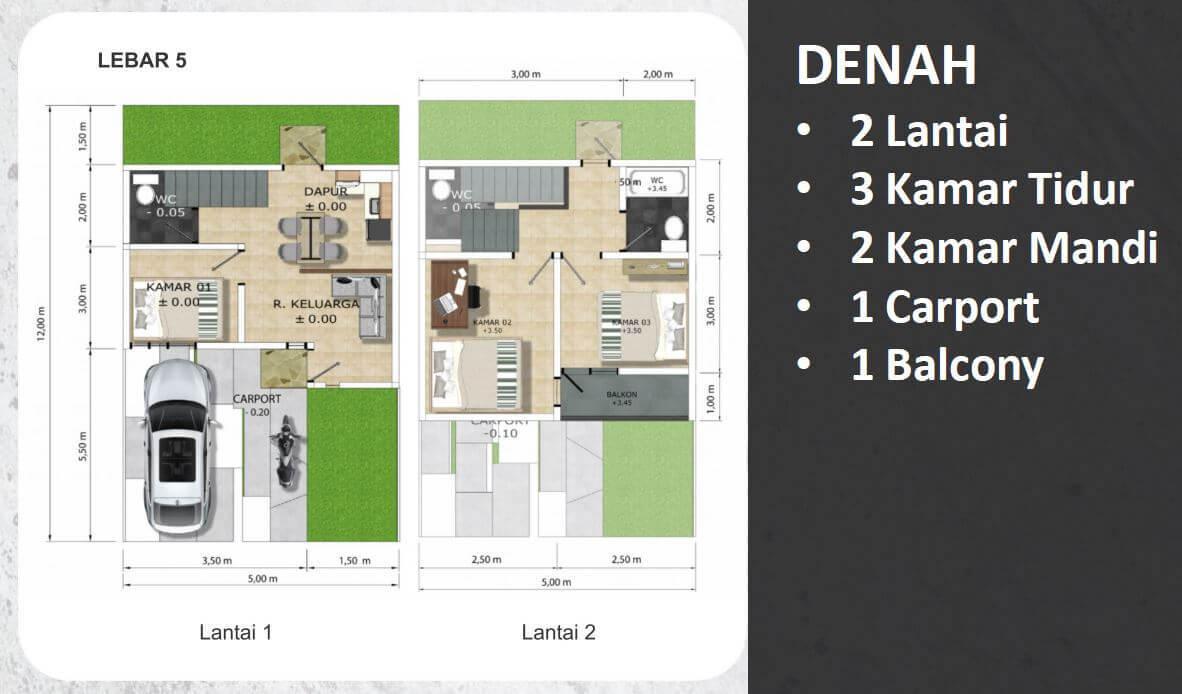 Jatiasih Central City 5x12
