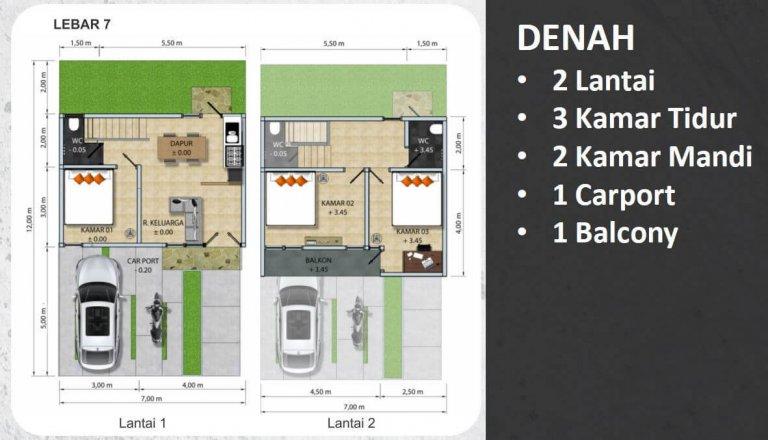 Jatiasih Central City 7x12