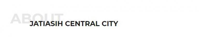 Jatiasih Central City